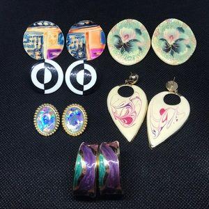 VINTAGE BUNDLE!!! 1980/1990 Earrings!!